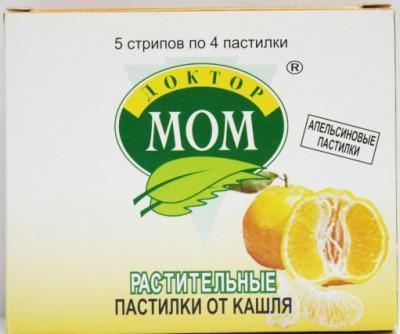 Доктор Мом от кашля для детей