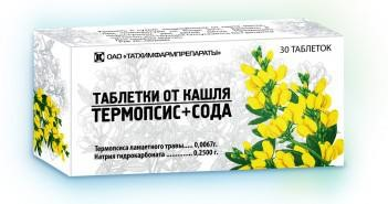 таблетки с термопсисом инструкция