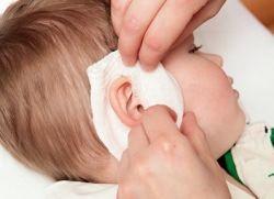 ушной компресс ребенку