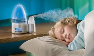 сухой воздух в комнате