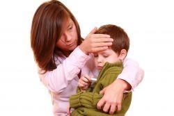 у ребенка поднялась температура 38 без симптомов