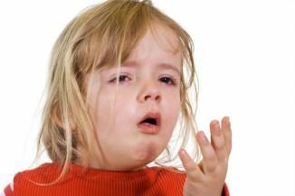 сильный кашель у ребенка и температура 38