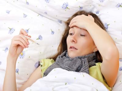 Причины кашля и высокой температуры