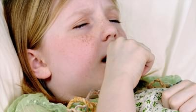 У ребенка приступ кашля