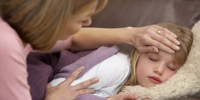 У ребенка желудочный грипп
