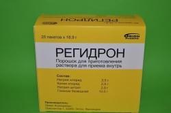 Регидрон для лечения кишечного гриппа