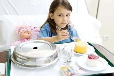 Вы можете заразиться желудочным гриппом с пищей
