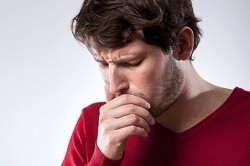 Затяжной кашель при сегментарной пневмонии