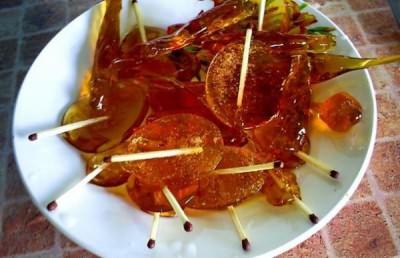 как приготовить жженый сахар от кашля