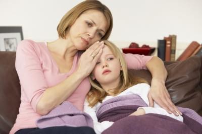 Сколько держится температура при простуде